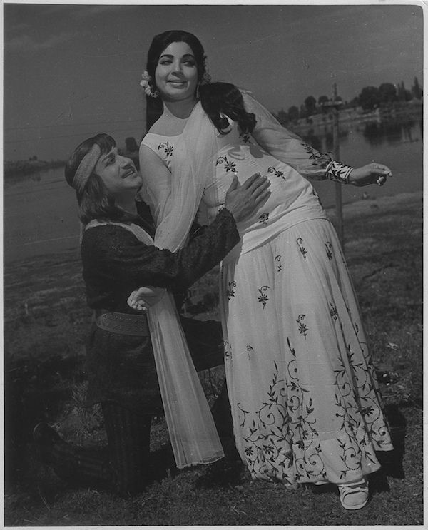 Jayalalithaa with Sivaji Ganesan in the Chitra Pournami produced in 1976 - HT Photo.